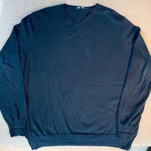J Crew sweater navy vneck